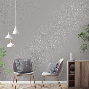 کاغذ دیواری های خالدار
